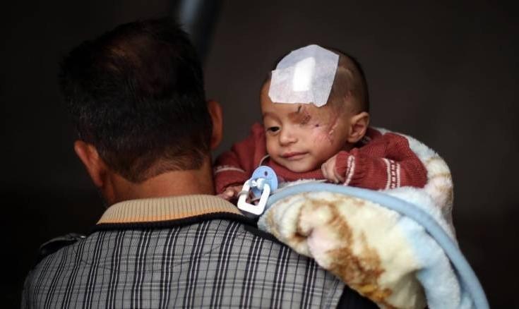 بمباران غوطه شرقی توسط بشار اسد ۴۱۶ کشته بر جا گذاشت از جمله ۱۰۰ کودک/ در خواست ترکیه از ایران و روسیه برای فشار برای توقف بمباران
