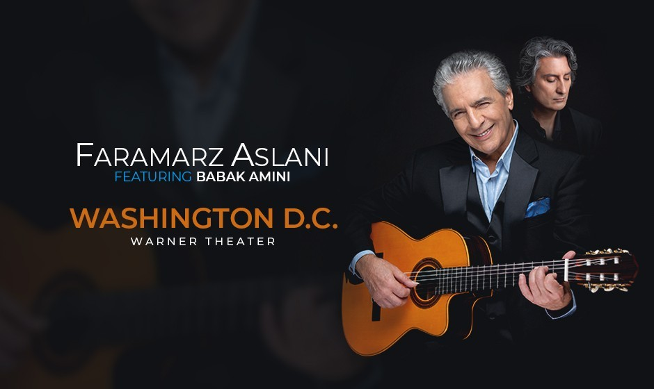 Faramarz Aslani and Babak Amini Live In DC