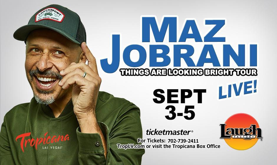Maz Jobrani Live, Stand Up Comedy at the Laugh Factory in Las Vegas