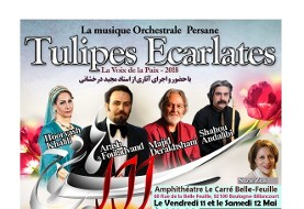 Scarlet Tulips: Iranian Orchestral Music with Maestro Majid Derakhshani