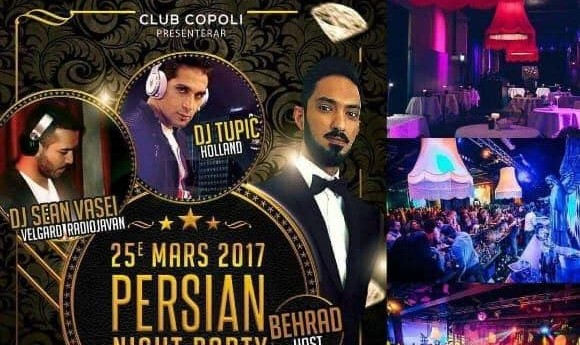 Persian Nowroz with Dj Sean Vasei & Dj Tupic
