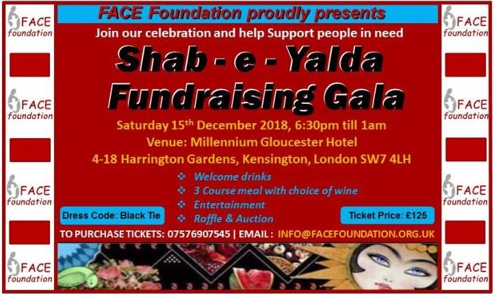 Shab-e Yalda Fundraising Gala