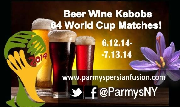 Iran and World Cup Games with Kabob