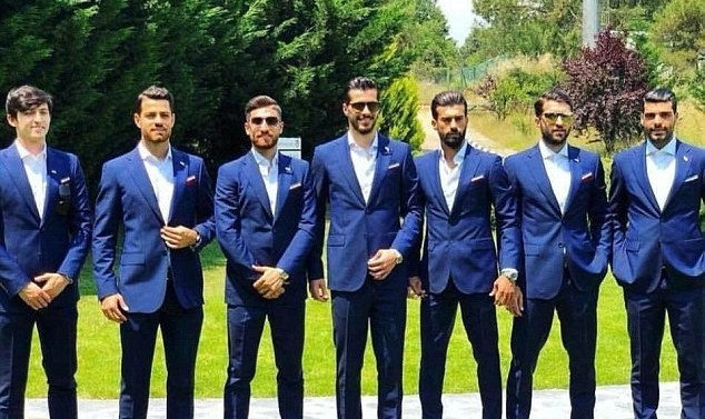 In Pictures: The suave Iranian National Team according to Daily Mail