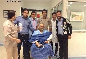 جوادخیابانی در بیمارستان بستری شد: عمل جراحی سختی دارم؛ مردم حلالم کنید