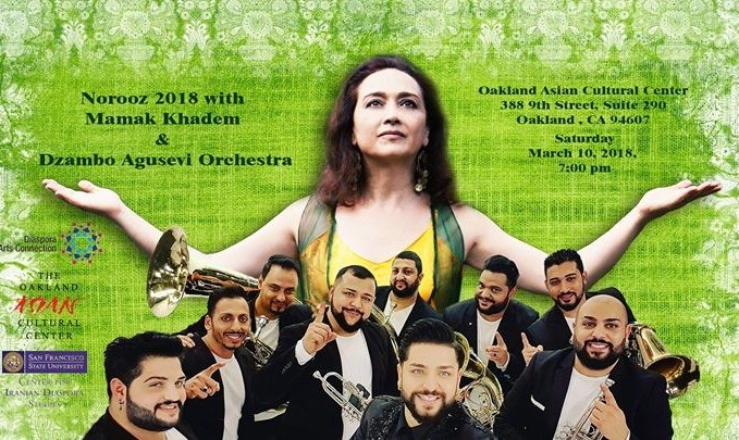 Norooz 2018 with Mamak Khadem and Dzambo Agusevi Orchestra