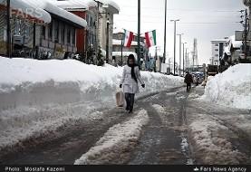 برف مدارس غرب و شمالغرب ایران را فلج کرد، گرد و غبار جنوب غرب را