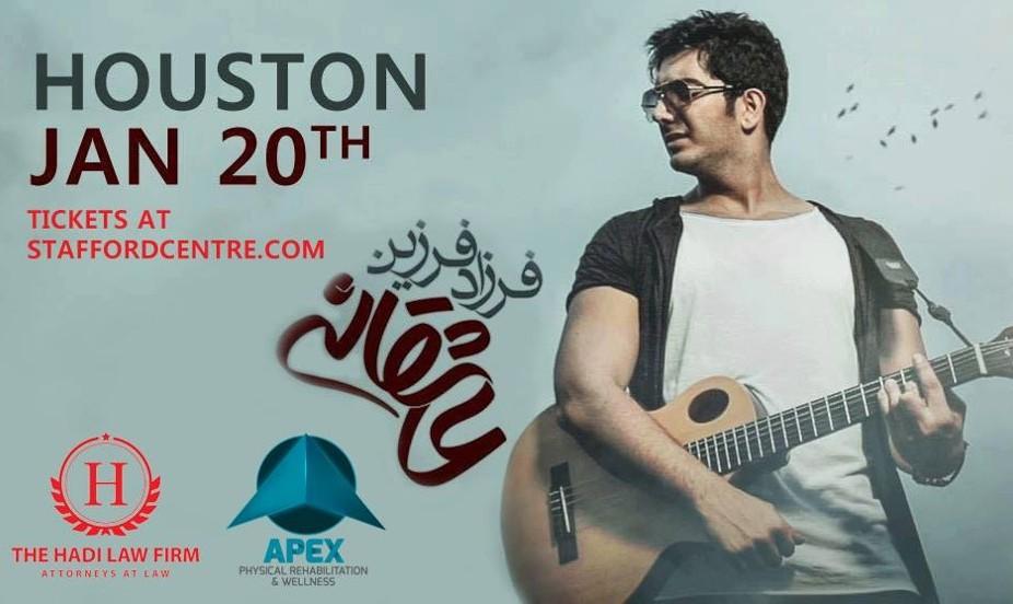Farzad Farzin in Houston: Asheghaneh Tour