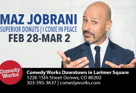 Maz Jobrani in Denver