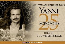 Yanni ۲۵: Acropolis Anniversary Concert Tour in Toronto