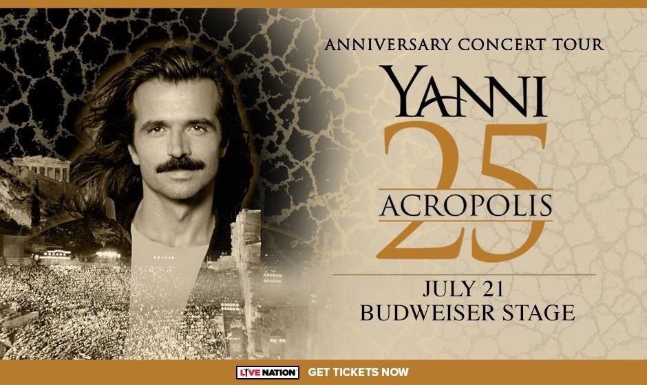 Yanni 25: Acropolis Anniversary Concert Tour in Toronto