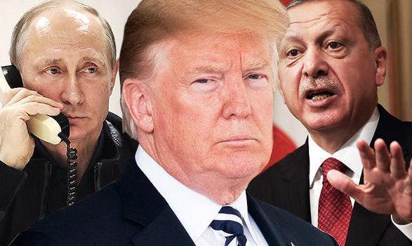 با چراغ سبز ترامپ و پوتین حمله هوایی ترکیه به مواضع کُردها در سوریه در گذرگاه مرزی با عراق  آغاز شد