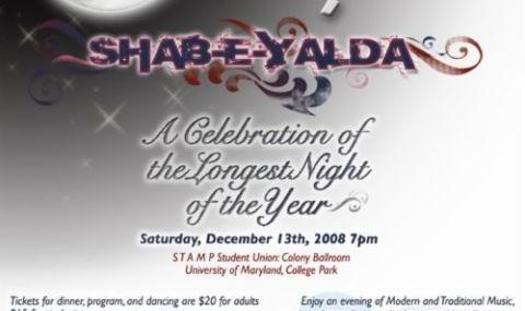 Celebration Yalda Night