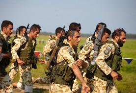 هوابرد ارتش در مسابقات نظامی سخت و طاقت فرسا روسیه در بین ده کشور سوم شد