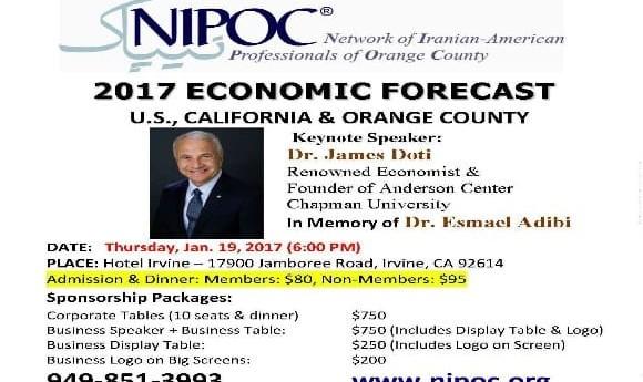 Dr. James Doti: 2017 Economic Forecast