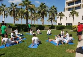 عکس: بازیکنان تیم ملی فوتبال در هتل ریکاوری کردند