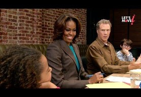 Let's Move! Michelle Obama and Will Ferrell