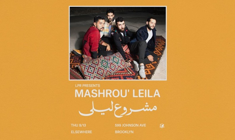 Mashrou' Leila 2018 North American Tour