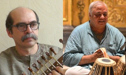 Indian Classical Musique with Pirouz Djoharian (Setar) and Lav Kumar Sharma (Tabla)