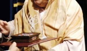 سخنرانی خانم اشرف قندهاری بهادرزاده از کهریزک در دانشگاه استانفورد