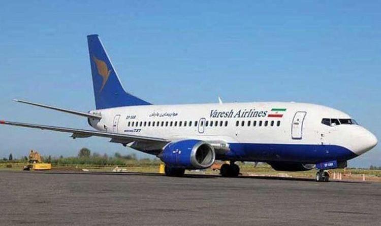 حادثه در باند فرودگاه مهرآباد: ترکیدن چرخ هواپیمای کارون در فرودگاه