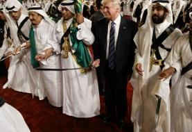 تلاش ترامپ برای دوشیدن عربستان با اعلام وضعیت اضطراری در مورد ایران و فروش سلاح با دور زدن کنگره