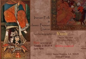 Persian Dance Classes - Presentation
