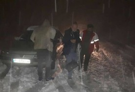 پایان ماجرای دو گردشگر فرانسوی گرفتار در جاده سنندج - مریوان