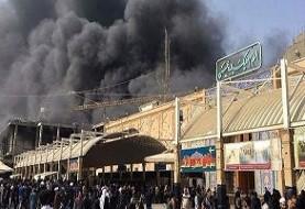 باز هم آتشسوزی هتل زائران ایرانی در نجف