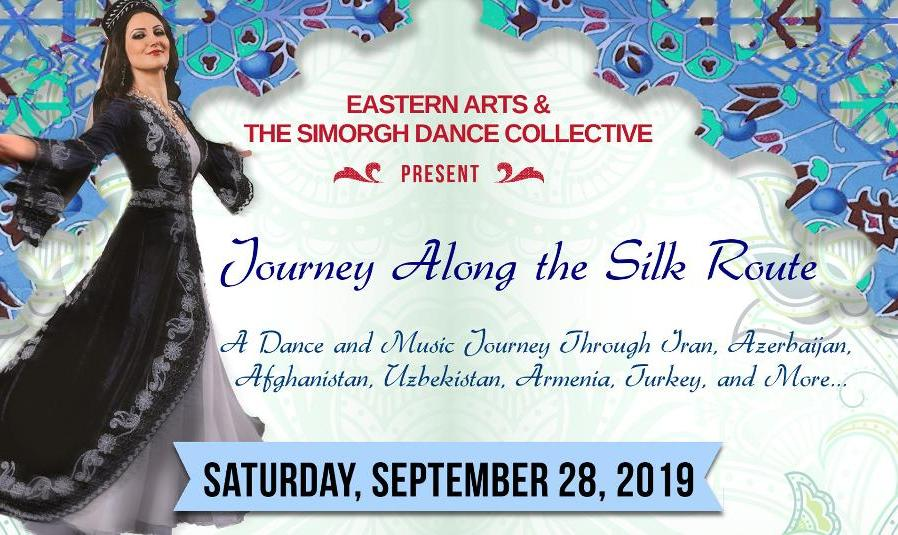 Simorgh Dance, Concert by Homerya Banejad, and Bazaar: Journey Along the Silk Road