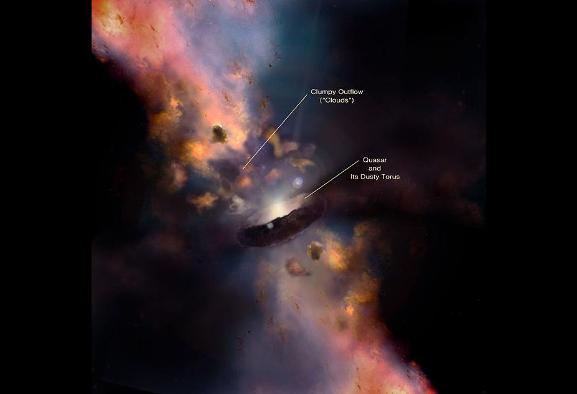 NASA Uses Drawing by Iranian Artist to Illustrate Black Holes and ...