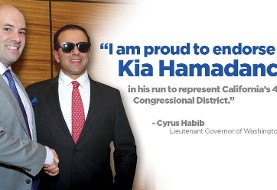 Meet and Greet: Iranian American Kia Hamadanchy for Congress
