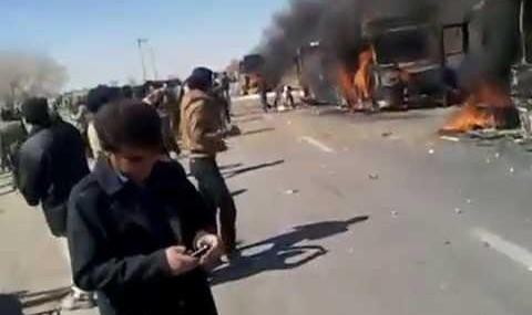 ویدئوهای درگیری کشاورزان اصفهان و نیروی انتظامی