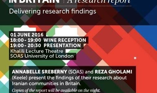 جامعه ایرانیان انگلیس، گزارش آماری تحقیقاتی