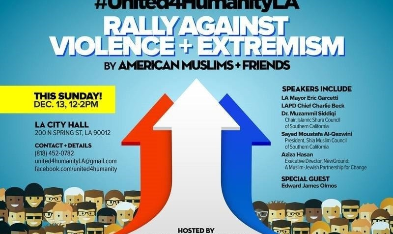 Muslim's Rally Against Violence and Extremism: Unity for Humanity