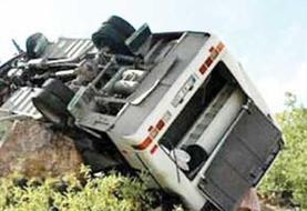 باز هم اتوبوس زیارتی تابوت مرگ شد؛ ۵ تن در حادثه مرگبار اتوبوس زیارتی جمکران در لرستان جان باختند