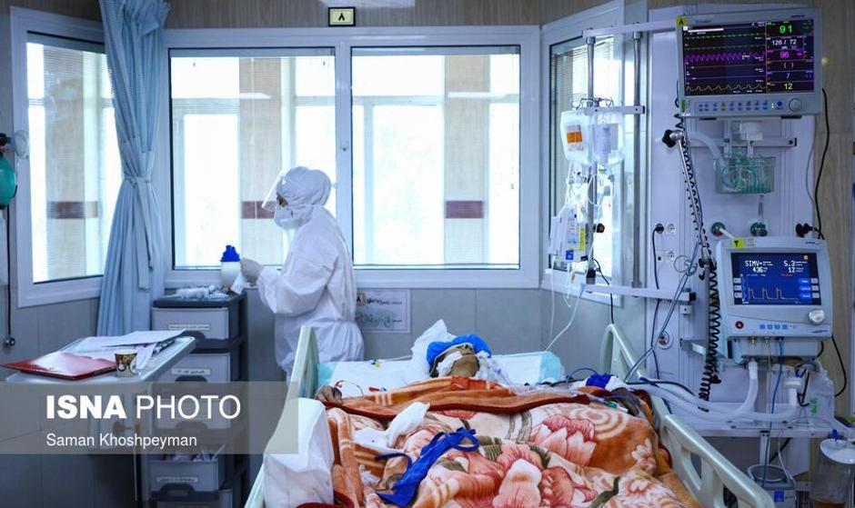 رکورد شمار مبتلایان به کرونا در ایران: تصاویر وضعیت سیاه کرونا در بیمارستان امین اصفهان