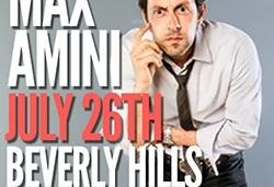 Max Amini Comedy Hour to support ALS Research