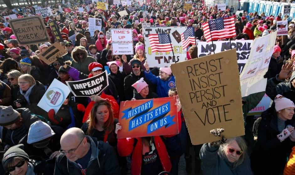 هیچ کسی کشته یا زندانی نشد/ تظاهرات گسترده علیه ترامپ در سالگرد ریاستجمهوریاش: بسیاری از زنان نامزد انتخابات خواهند شد