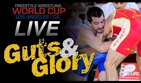 Iran defeats US in Los Angeles in world cup of wrestling (video)