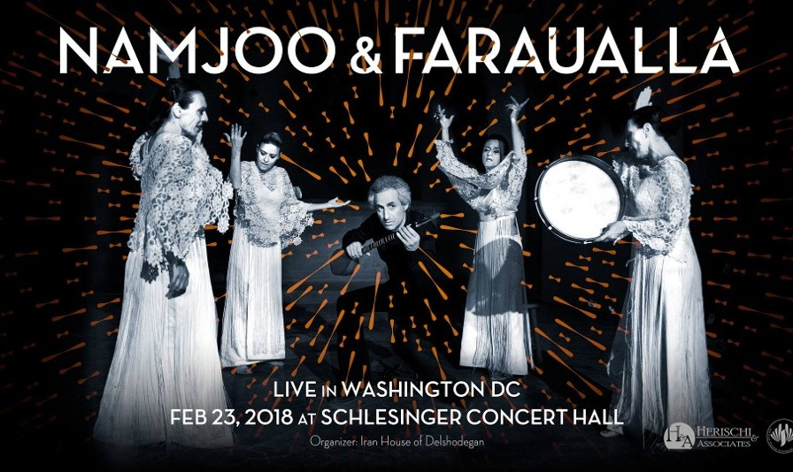 کنسرت محسن نامجو همراه گروه ایتالیائی فراولا
