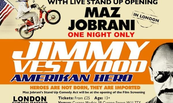 Maz Jobrani: Film Screening Opening and Live Stand Up Comedy