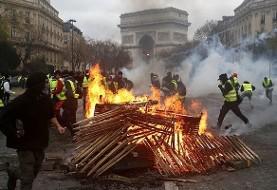 ترامپ: معترضین فرانسوی به گرانی بنزین مرا میخواهند! وزیر خارجه فرانسه: ترامپ از دخالت در سیاست داخلی فرانسه پرهیز کند