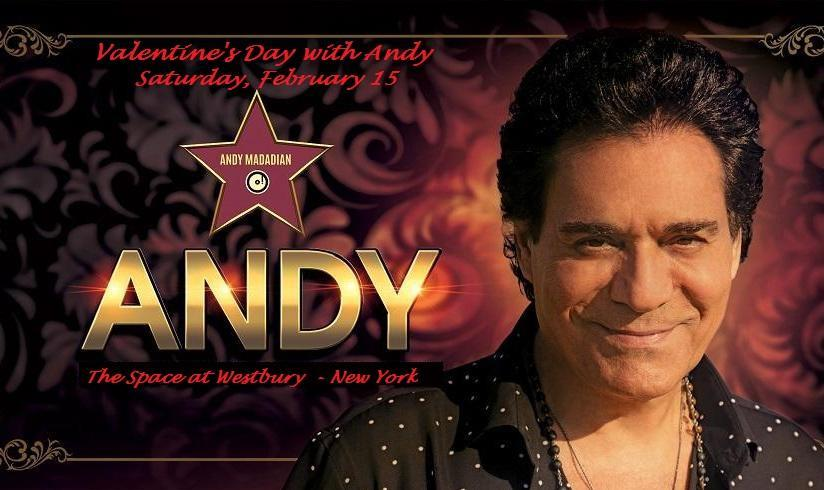 ANDY in New York for Valentine's Day
