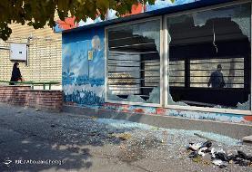تصاویر: از آتش زدن بانک تا غارت اموال در اعتراض به گرانی بنزین