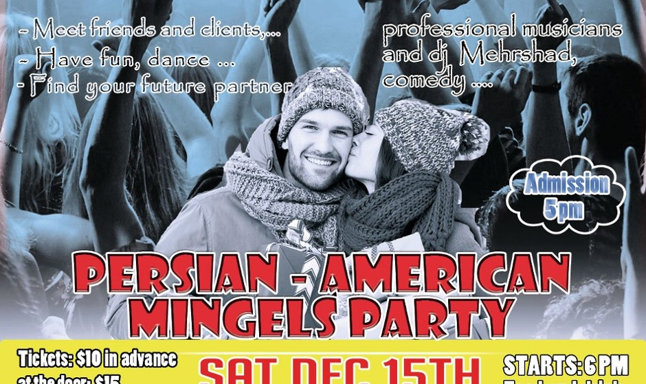 Persian Singles Party: Meet, Network, Enjoy Professional Musicians and Comedy