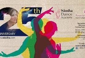 Niosha Dance Academy's ۲۵th Anniversary Gala, Benefiting Children Cancer and The Iranian community