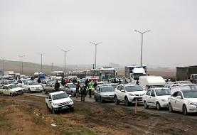 تصادف زنجیرهای جاده سبزوار - شاهرود ۴۷ مصدوم و یک کشته برجای گذاشت