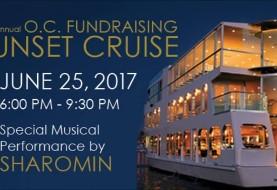 ۳rd Annual OC Fundraising Sunset Cruise with Sharomin