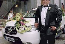 خودروی عروس و داماد مازندرانی هنگام فیلمبرداری در منطقه ییلاقی لاریجان به دره سقوط کرد و داماد جان باخت!